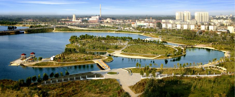 菏泽曹县团结河湿地