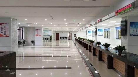 兖州工业园区投资服务大厅一楼装修千赢手机app下载官网