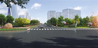 兖州工业园区企业门口绿化提升千亿国际开户