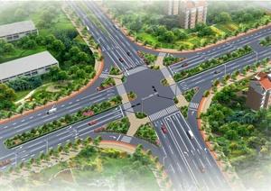 兖州工业园区路口节点绿化提升千亿国际开户