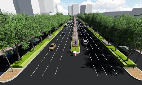 兖州工业园区大禹北路绿化提升千亿国际开户