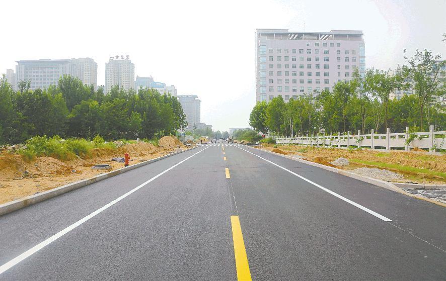 日照经济开发区休闲绿地道路施工改造