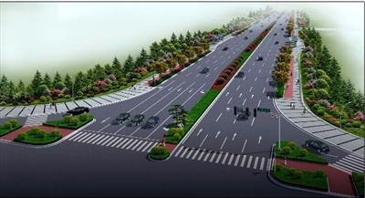 高新区和顺路至广安路道路绿化千亿国际开户