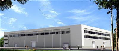 岚山区马寨工业园厂房建设