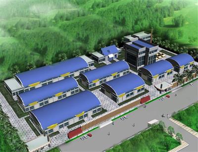 邹城皮革水厂厂房建设
